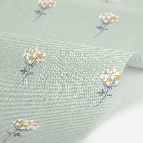 生地・布 ≪ 109幅 Lace flower - mini flower ≫  コットン/幅109cm デコレクションズオリジナル生地・布 【10cm単位販売】