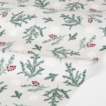生地・布 ≪ Winter tree - tree ≫  コットン/幅108cm デコレクションズオリジナル生地・布 【10cm単位販売】