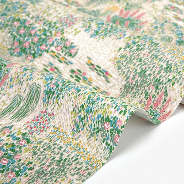 生地・布 ≪ Giverny ≫ オックス/幅149cm デコレクションズオリジナル生地・布 【10cm単位販売】