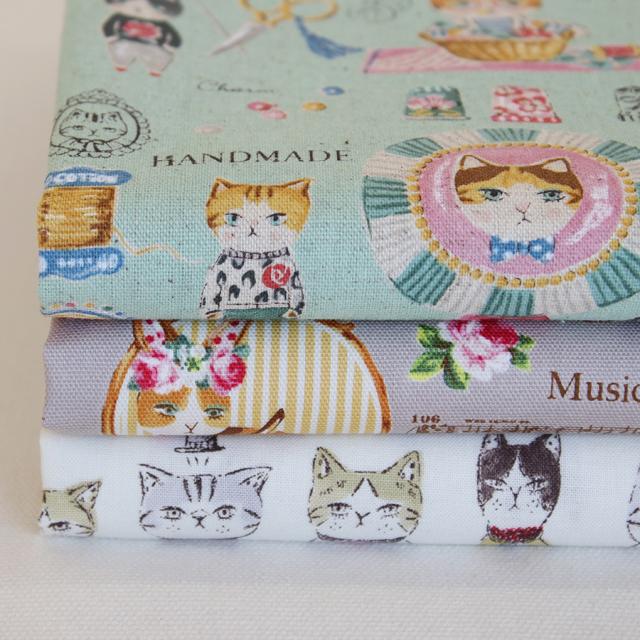 カットクロス3枚セット 12 YUWA Cats  【メール便対応】