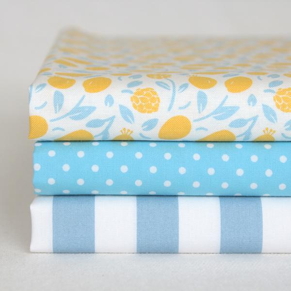 カットクロス3枚セット 15 Honey Lemon 【ゆうパケット対応】