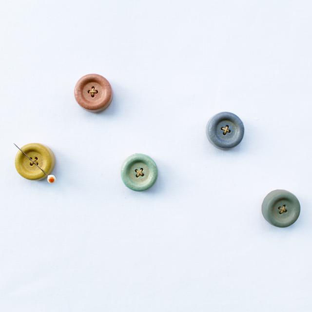 信楽焼のボタンマグネット Cohanaシリーズ 【メール便不可】