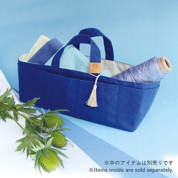 帆布の道具入れ あお Japan Blue Cohanaシリーズ 【メール便対応】