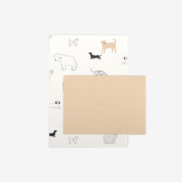 レターセット 11 Daily dog 【グリーティング】【ラッピング】