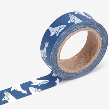 マスキングテープ 93 : Whale