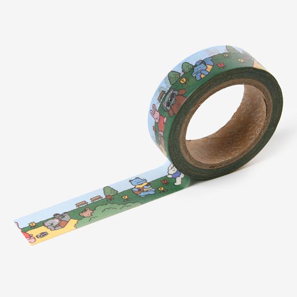 【マスキングテープ】 My buddy masking tape - 01 Picnic マステ スクラップブッキング ラッピング コラージュ 【デコレクションズ】【メール便対応】