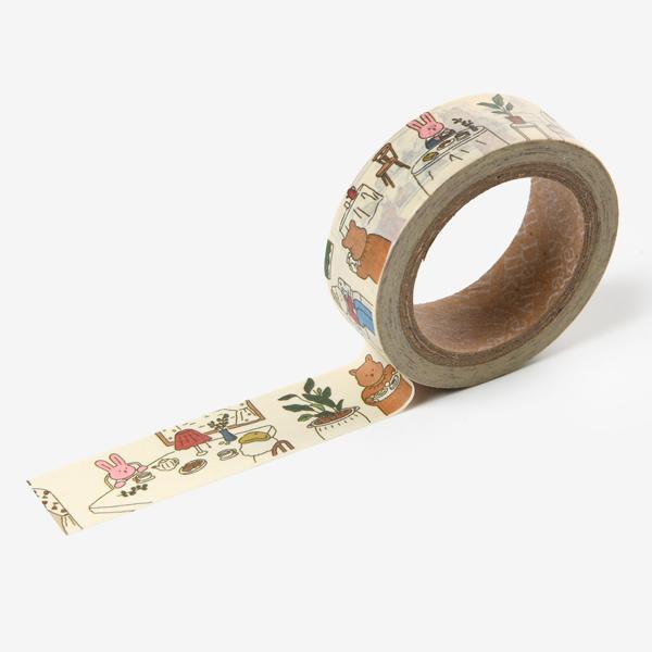 【マスキングテープ】 My buddy masking tape - 02 Bake shop マステ スクラップブッキング ラッピング コラージュ 【デコレクションズ】【メール便対応】