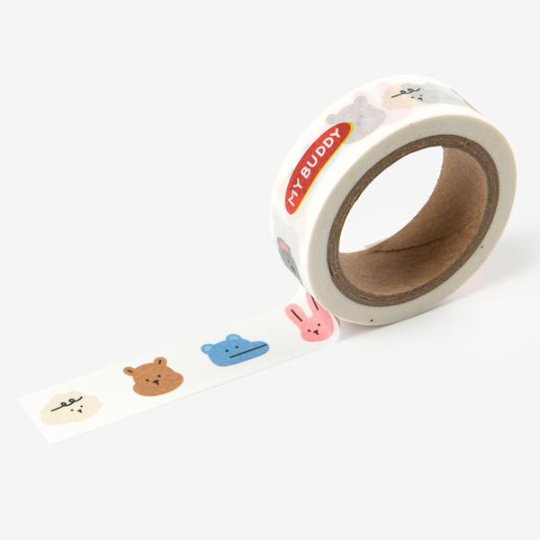 【マスキングテープ】 My buddy masking tape - 03 My buddy マステ スクラップブッキング ラッピング コラージュ 【デコレクションズ】【メール便対応】