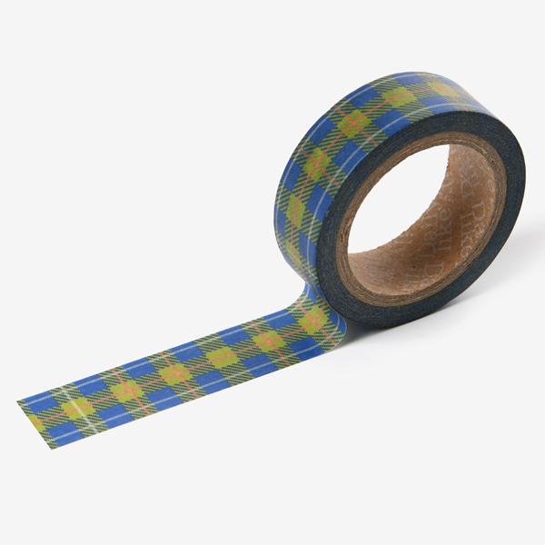 【マスキングテープ】 My buddy masking tape - 04 Hawaiian check マステ スクラップブッキング ラッピング コラージュ 【デコレクションズ】【メール便対応】