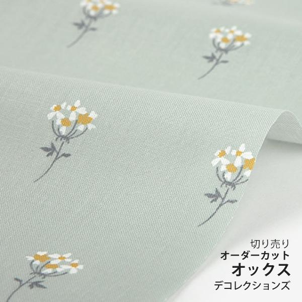 生地・布 ≪ Lace flower - mini flower ≫ オックス/幅147cm デコレクションズオリジナル生地・布 【10cm単位販売】