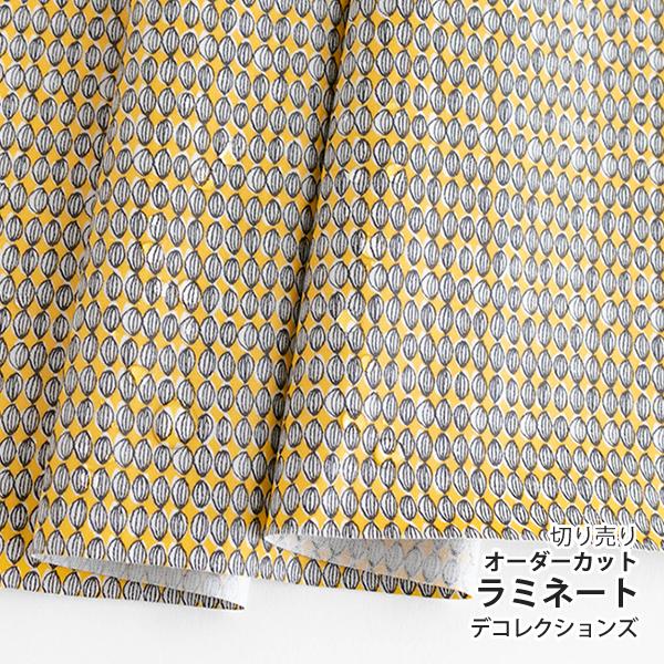 生地・布 ≪ Blossom - bud ≫ ラミネート/幅103cm デコレクションズオリジナル生地・布 【10cm単位販売】