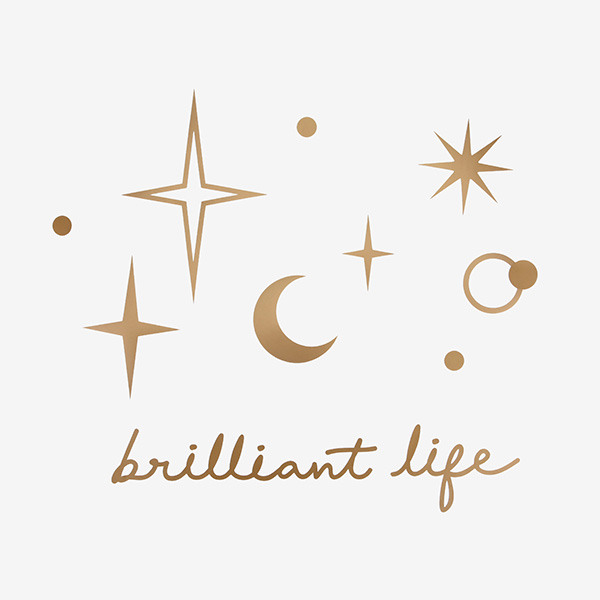 Wall Deco Sticker 04 Gold Star ウォールステッカー