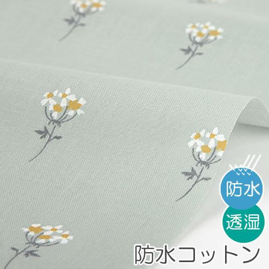 防水北欧風生地・布 ≪ Lace flower - mini flower ≫ 防水コットン/幅109cm デコレクションズオリジナル生地・布【10cm単位販売】