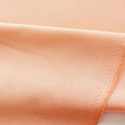 生地・布・入園入学 ≪ ペールオレンジ ≫  オックス生地/幅110cm 【10cm単位販売】