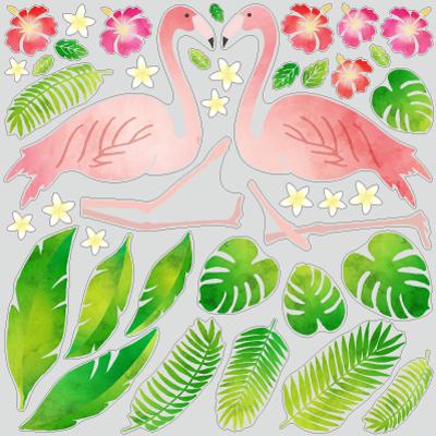 南国リーフ&フラミンゴ