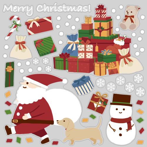 【VP】サンタさんのプレゼントの写真