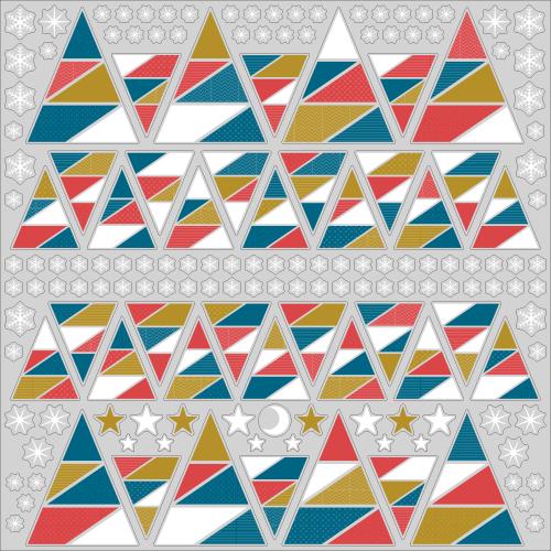 【VP】三角ツリーの写真