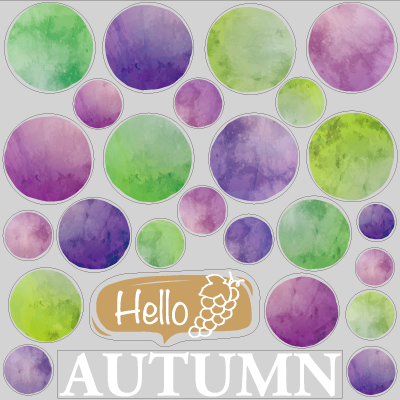 Hello Autumn ぶどう