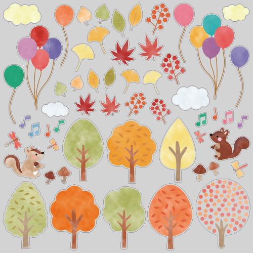 【VP】秋の森のひとときの写真