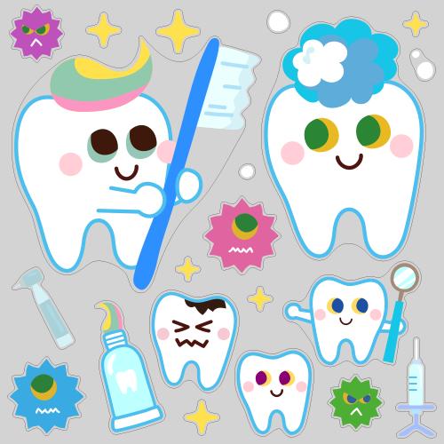 【VP】toothくんとtoothちゃん ビッグの写真