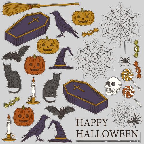 【VP】Happy Halloween シックの写真