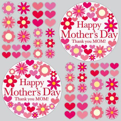 【VP】Happy Mother's Day フラワーマークの写真