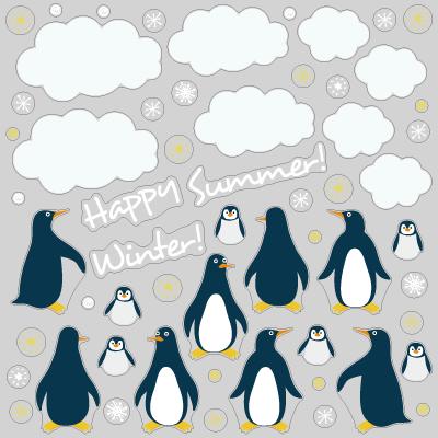 【VP】ペンギン家族