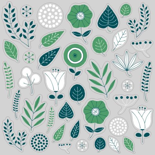 【VP】北欧風 植物《グリーン》の写真