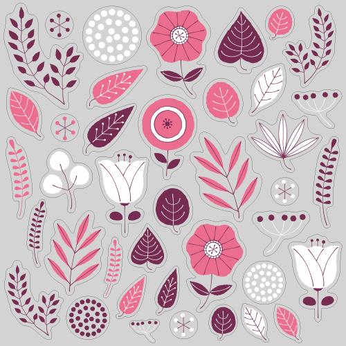 【VP】北欧風 植物《ピンク》の写真