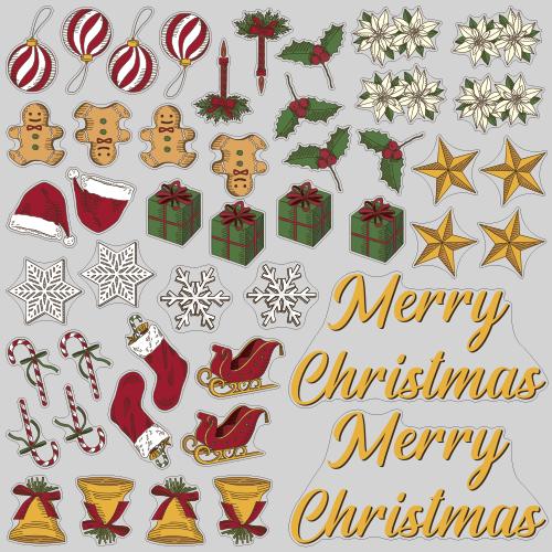 【VP】Merry Christmas シックの写真