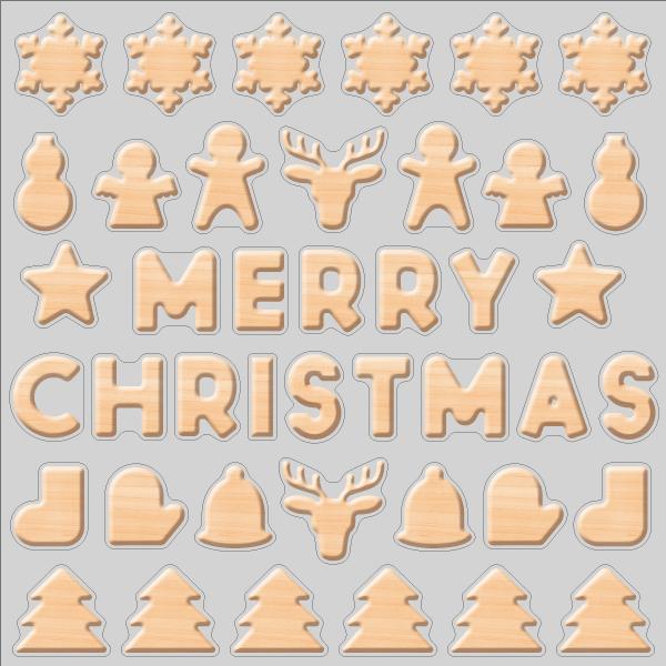 【VP】木のクリスマスの写真