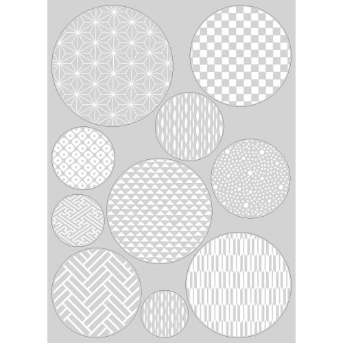 【PP】紋様ボールミニ白の写真