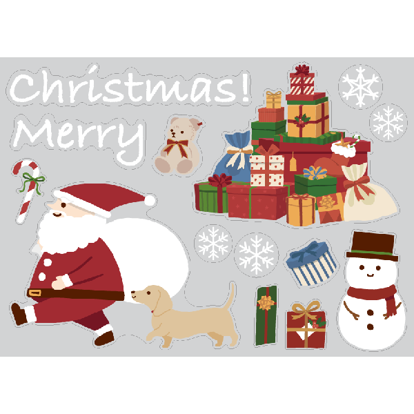 【PP】サンタさんのプレゼント ミニの写真