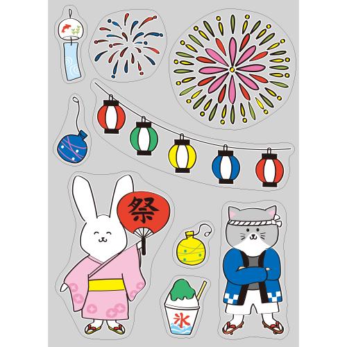 【PP】動物たちの納涼祭の写真