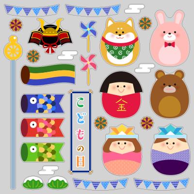 【VP】季節のたまごシリーズ1-5月 こどもの日の写真
