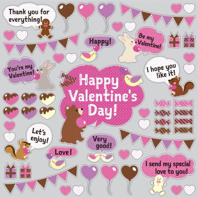 【VP】バレンタインメッセージの写真