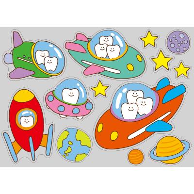 【PP】歯の旅立ち宇宙船 ミニの写真