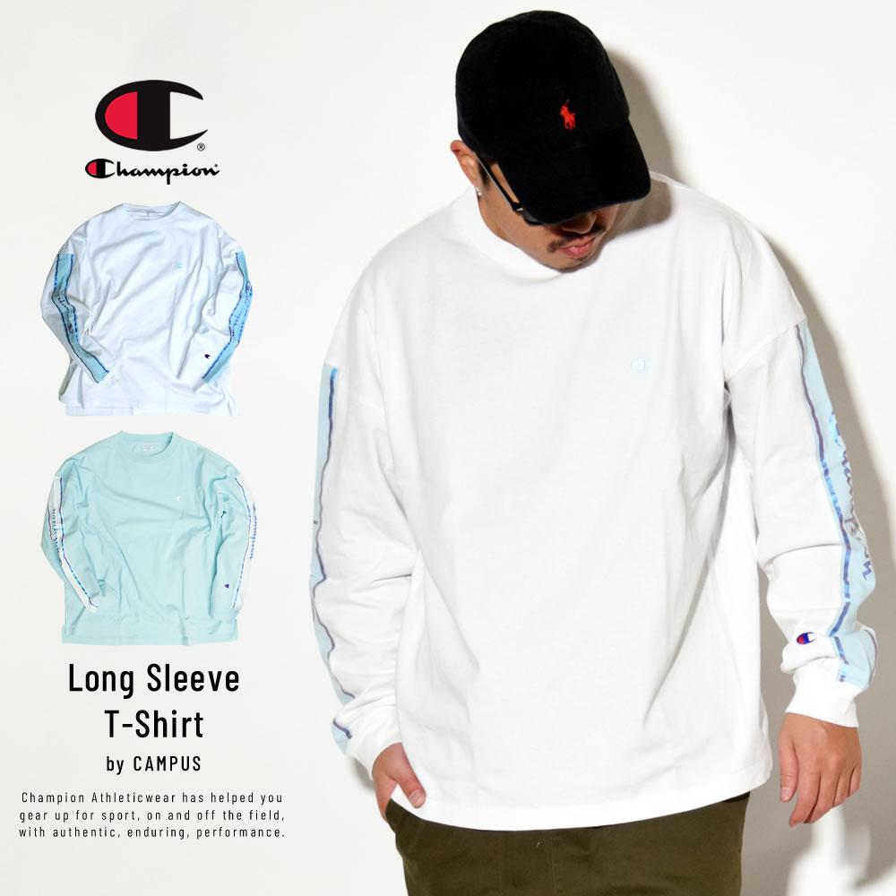 Champion (チャンピオン) 長袖Tシャツ CAMPUS LONG SLEEVE T-SHIRT (C3-R411)