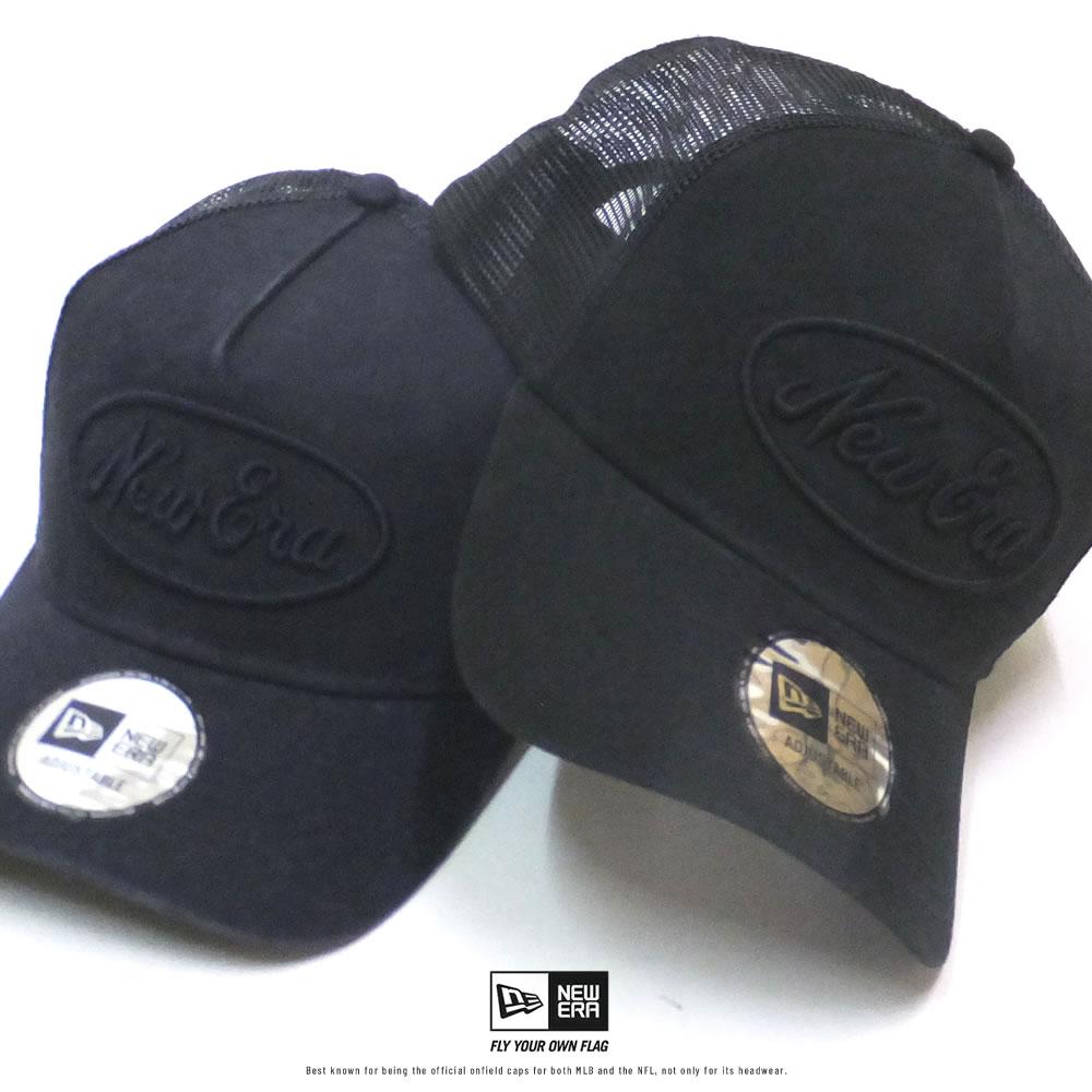 ニューエラ NEW ERA メッシュキャップ 帽子 メンズ レディース 9FORTY A-Frame トラッカー ウォッシュドコットン オーバルロゴ 2020SS