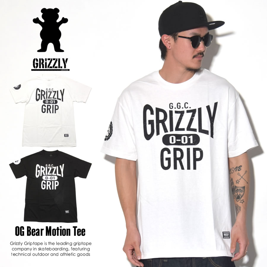 GRIZZLY GRIPTAPE グリズリーグリップテープ 半袖Tシャツ BIG CITY SEAL TEE GMA1701P16 7V1217