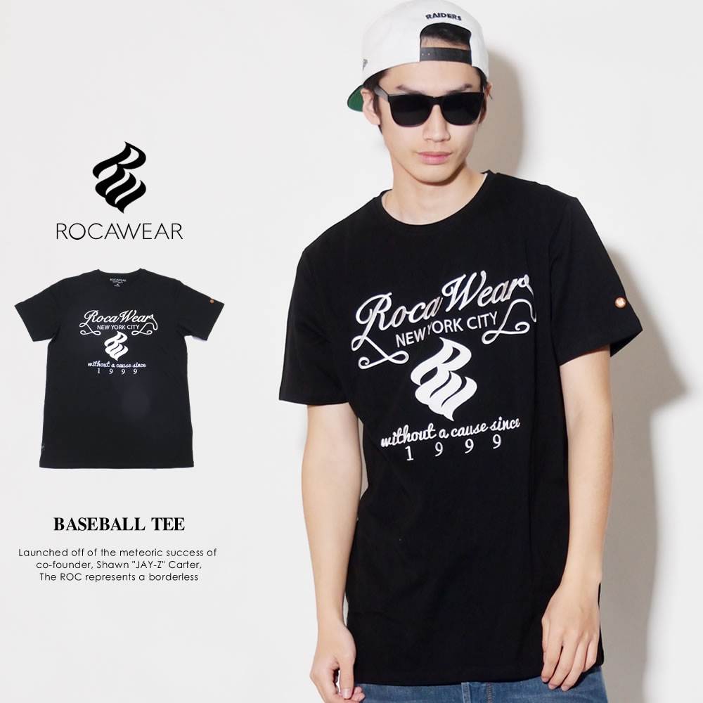 ROCAWEAR ロカウェア 半袖Tシャツ メンズ BASEBALL TEE (RWTS001)