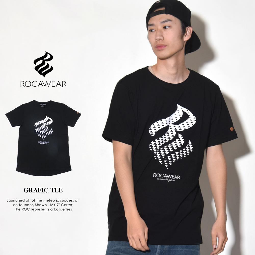 ROCAWEAR ロカウェア 半袖Tシャツ メンズ GRAFIC TEE (RWTS007)