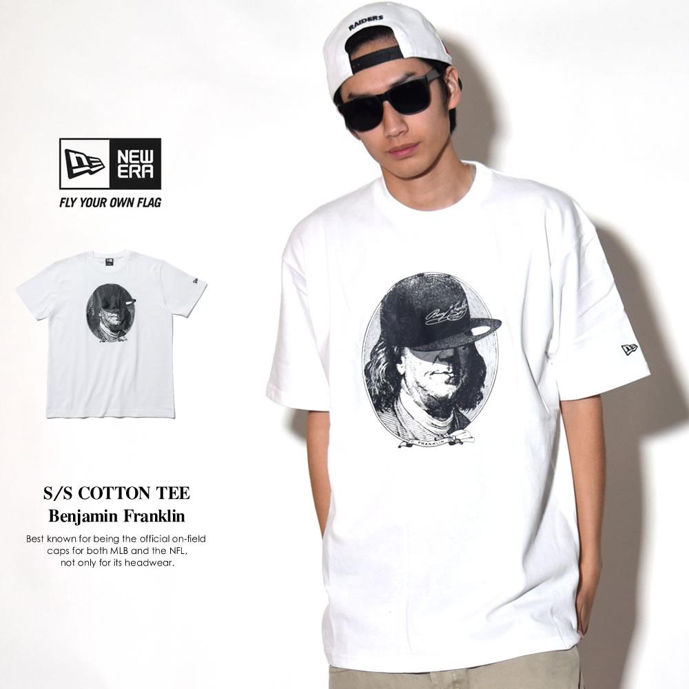 NEW ERA ニューエラ 半袖Tシャツ ベンジャミン・フランクリン ホワイト (11556795)