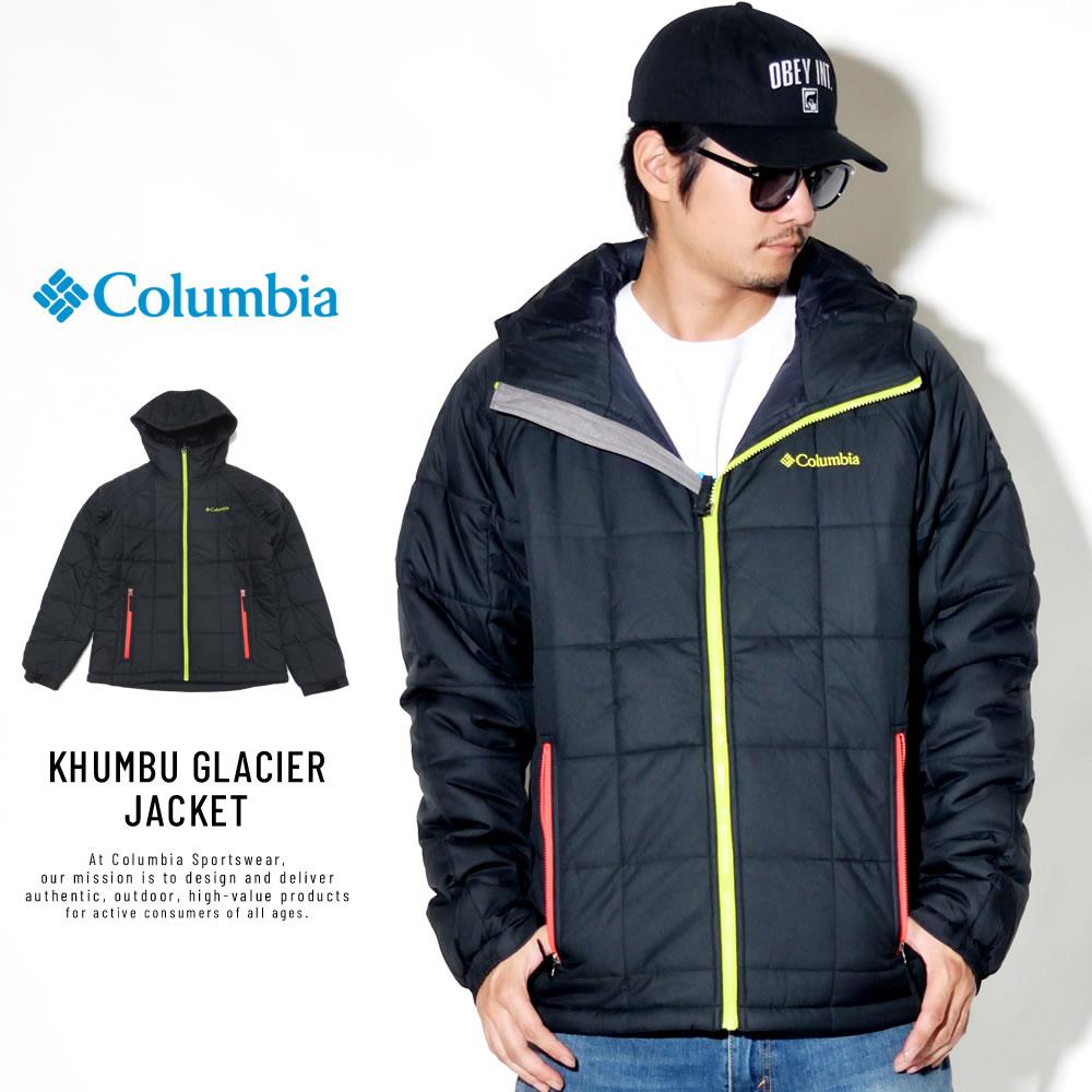 COLUMBIA コロンビア キルティングジャケット KHUMBU GLACIER JACKET PM5611