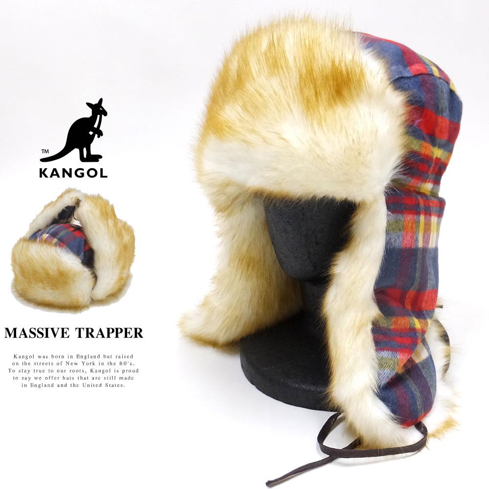 KANGOL カンゴール フライトキャップ MASSIVE TRAPPER 188169216
