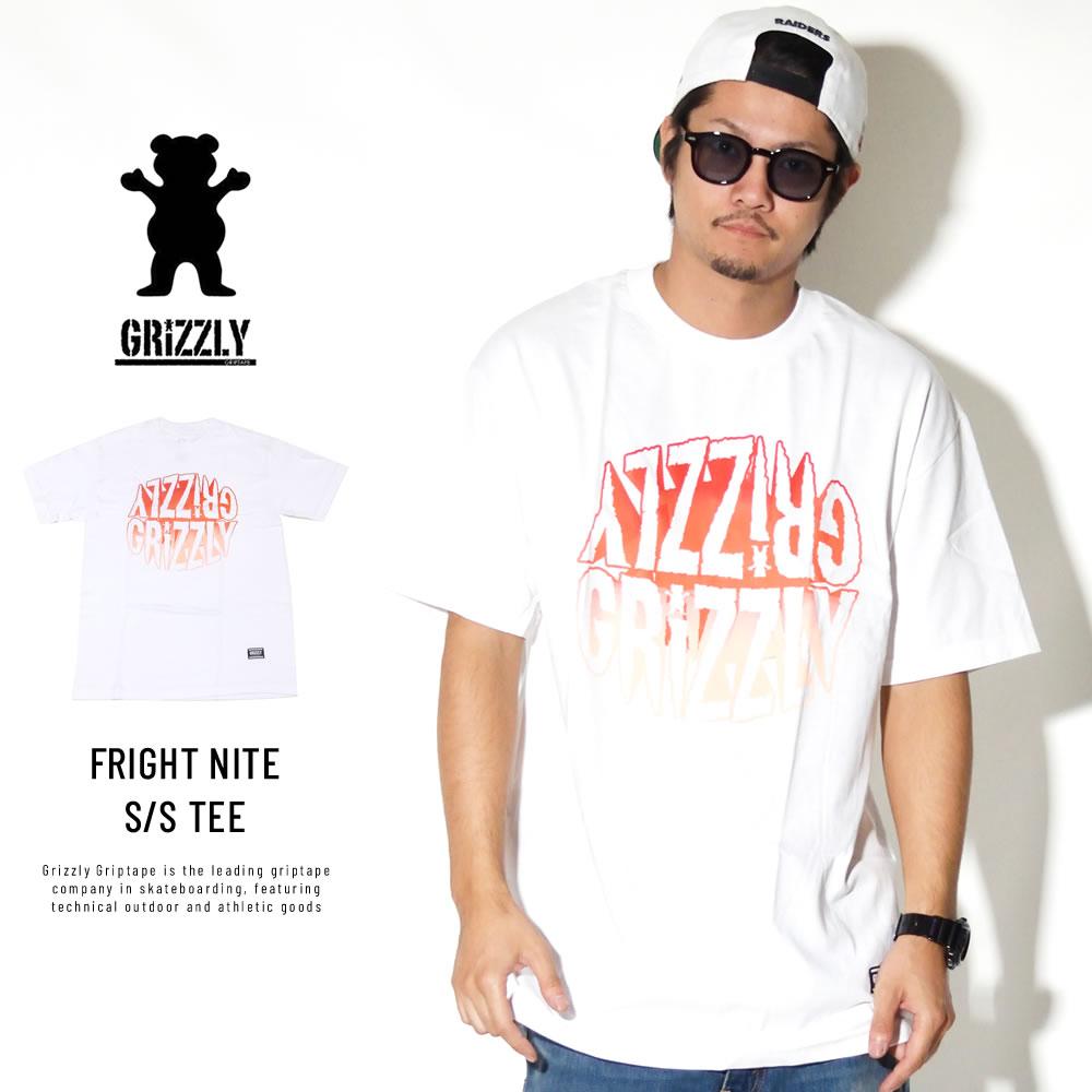 Grizzly Griptape 半袖Tシャツ FRIGHT NITE S/S TEE GMC1801P06