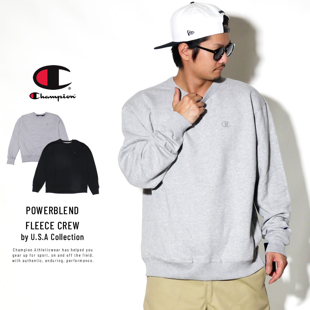 CHAMPION チャンピオン トレーナー POWERBLEND FLEECE CREW S0888