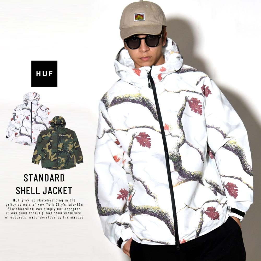 HUF ハフ ウィンドブレーカー STANDARD SHELL JACKET JK00140