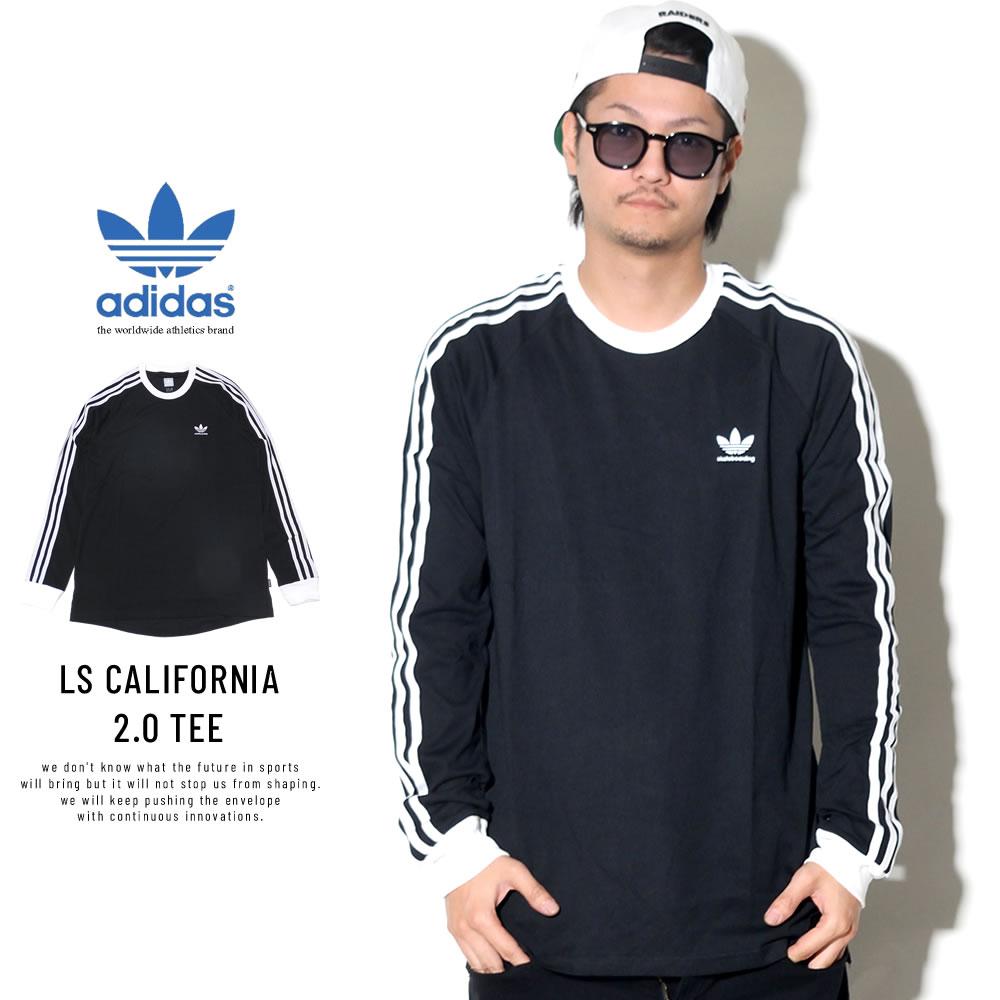 adidas Skateboarding アディダス スケートボーディング 長袖Tシャツ LS CALIFORNIA 2.0 TEE DH3860