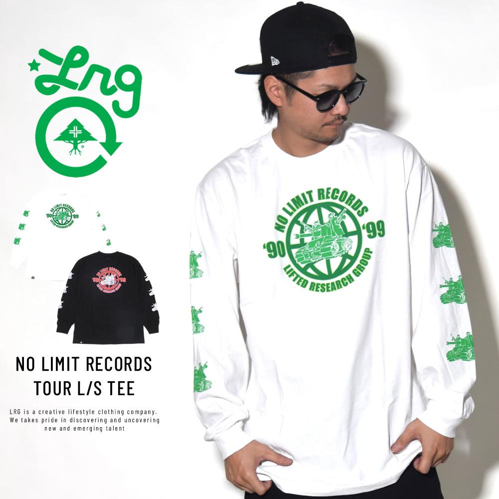 LRG エルアールジー 長袖Tシャツ NO LIMIT RECORDS TOUR L/S TEE M181048S